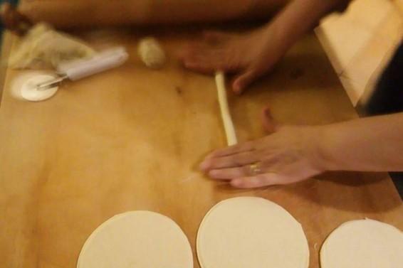 Preparazione Cassatine Dolci Ricotta (Ph. Cristina Silvestro)