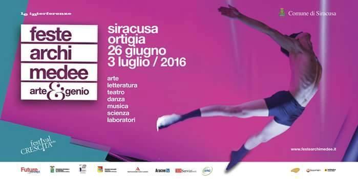 Feste Archimedee Siracusa Ortigia dal 26 giugno al 3 luglio 2016