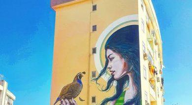 Santa Lucia e la Street Art (ph. Michele Buonomo)