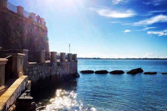 Lungo mare di Ortigia | Ph Claudio Maneri