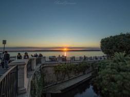 Fonte Aretusa al tramonto ( ph. Giovanni Bove)
