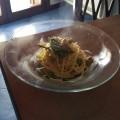 Spaghetti asparagi selvatici (Ph. Cristina Silvestro)