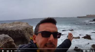 Il mare di inverno siracusa ortigia