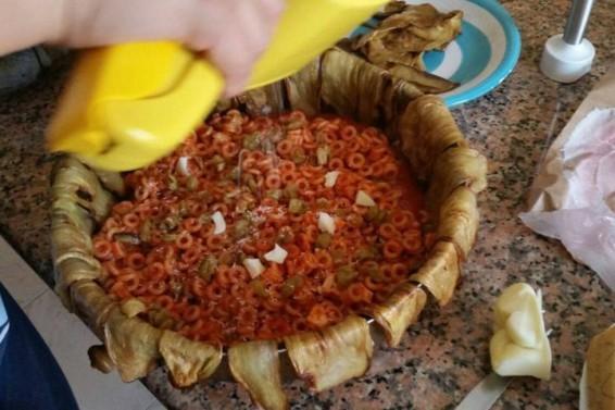 Ancora preparazione tortino ( Ph. Cristina Silvestro)