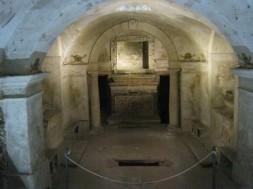 Cripta sotto Chiesa San Filippo - ph. Gianni Grillo