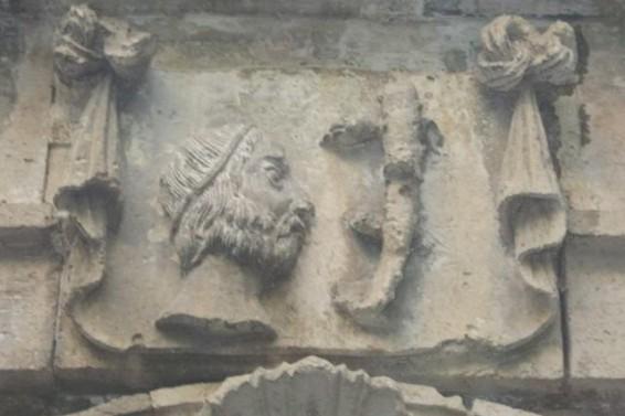 Lucertolona Vermexiana di Palazzo Blanco ( Ph. Gianni Grillo)