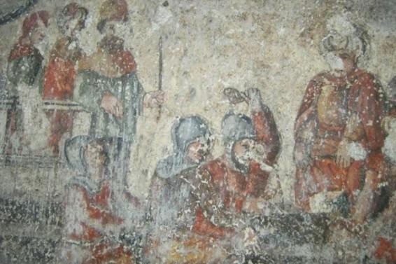Raffigurazioni sotto Chiesa San Filippo- Ph. Gianni Grillo