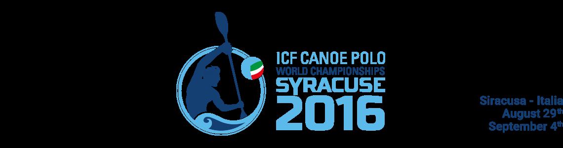 Campionati del Mondo Canoa Polo a Siracusa. Dal 29 agosto al 4 settembre.