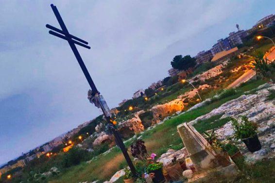 Croce di ferro in onore del Papa