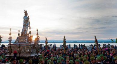Santa Lucia in processione (ph. Roberto Giuliano)
