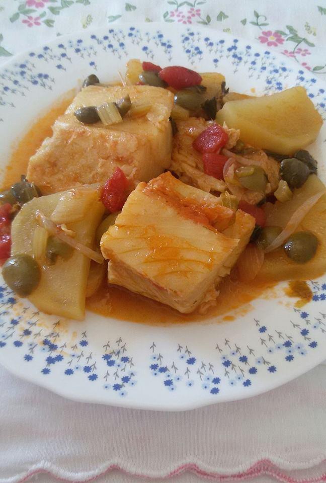 Ricetta Baccala con patate