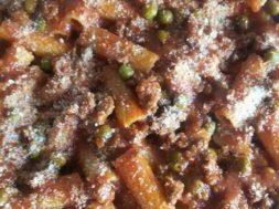 Immagine pasta al forno (ph. Lucia Spadaro)