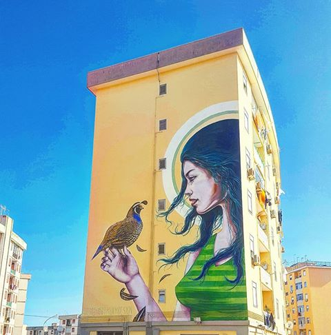 SANTA LUCIA E LA STREET ART