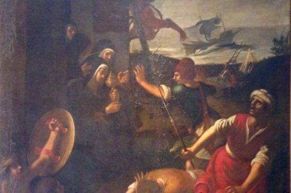dipinto-dentro-palazzo-bellomo-ph-carmela-giansiracusa