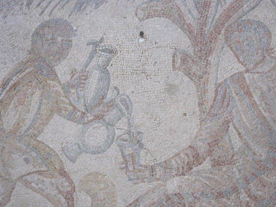 La villa romana del Tellàro nei pressi di Noto