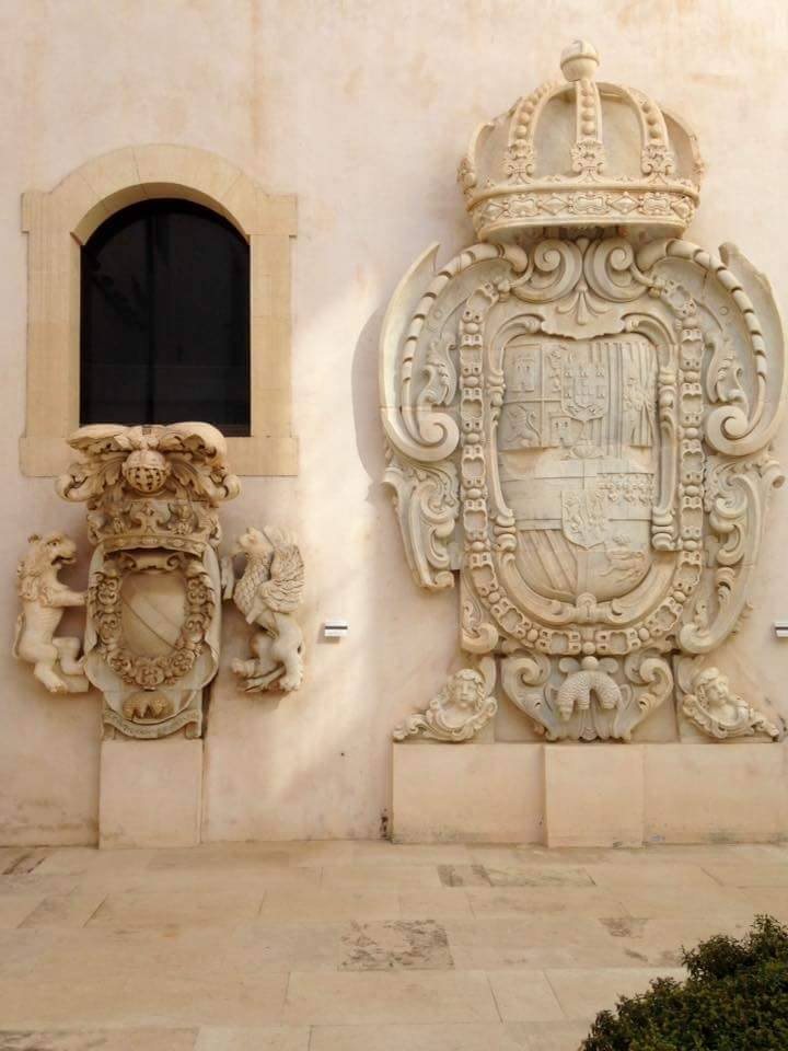 Ortigia. Galleria di Palazzo Bellomo
